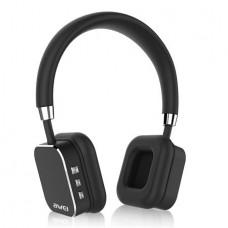 Fejhallgató, vezeték nélküli, Bluetooth, AWEI