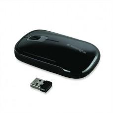 Egér, vezeték nélküli, lézeres, közepes méret, USB, KENSINGTON