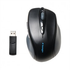 Egér, vezeték nélküli, optikai, normál méret, USB, KENSINGTON