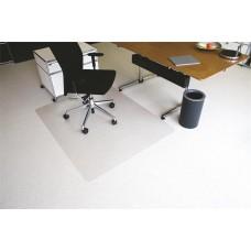 Székalátét, szőnyegre, E forma, 120x150 cm,