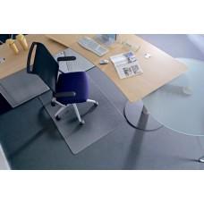 Székalátét, kemény felületre, E forma, 90x120 cm, RS OFFICE