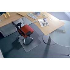 Székalátét, kemény felületre, L forma, 150x120 cm, RS OFFICE
