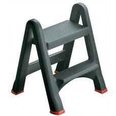 Összecsukható létra, 2 lépcsőfokos, műanyag, CURVER