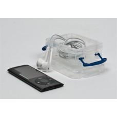 Műanyag tárolódoboz, átlátszó, aprócikkek számára, 0,07 liter, REALLY USEFUL