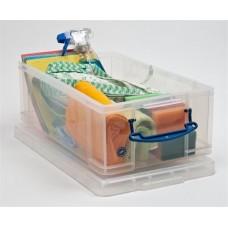 Műanyag tárolódoboz, C4 és DL méretű borítékok tárolására, 12 liter, REALLY USEFUL