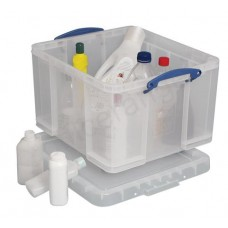 Műanyag tárolódoboz, 42 liter, REALLY USEFUL