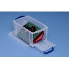 Műanyag tárolódoboz, 8 liter, REALLY USEFUL