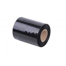 Kézi nyújtható fólia, fekete, 0,1m x 153m