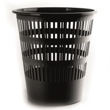 Papírkosár, 16 liter, DONAU, fekete