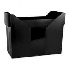 Függőmappa tároló, műanyag, DONAU, fekete