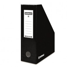 Iratpapucs, karton, 100 mm, DONAU, fekete