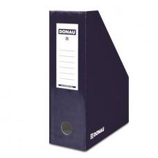 Iratpapucs, karton, 100 mm, DONAU, sötétkék
