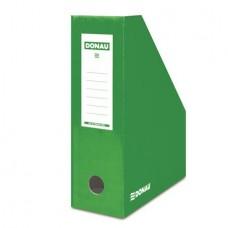Iratpapucs, karton, 100 mm, DONAU, zöld