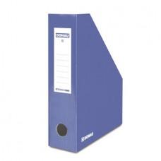 Iratpapucs, karton, 80 mm, DONAU, kék