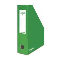Iratpapucs, karton, 80 mm, DONAU, zöld