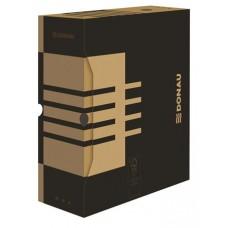 Archiváló doboz, A4, 120 mm, karton, DONAU, natúr