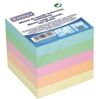 Kockatömb, 83x83x75 mm, DONAU, színes