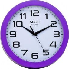 Falióra, 25 cm, lila keretes, SECCO