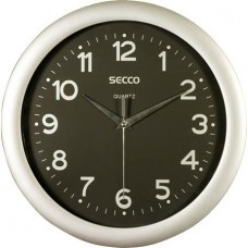 Falióra, 30 cm,  fekete számlap,SECCO
