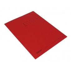 Pólyás dosszié, prespán, A4, ESSELTE, piros