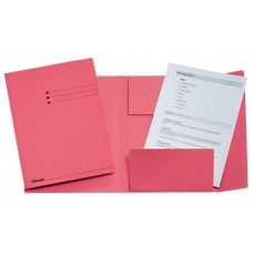 Pólyás dosszié, prespán, A4, ESSELTE, rózsaszín