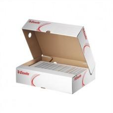 Archiváló doboz, A4, 80 mm, karton, felfelé nyíló, ESSELTE