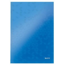 Beíró, A4, kockás, 80 lap, keményfedeles, lakkfényű, LEITZ