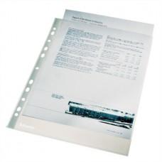 Genotherm, lefűzhető, A4, 43 mikron, narancsos felület, ESSELTE