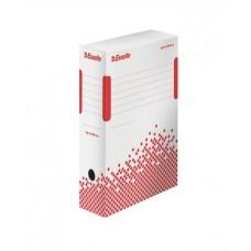 Archiváló doboz, A4, 100 mm, újrahasznosított karton, ESSELTE