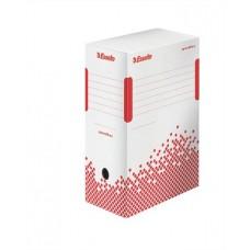 Archiváló doboz, A4, 150 mm, újrahasznosított karton, ESSELTE
