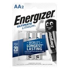 Elem, AA ceruza, 2 db, Lítium, ENERGIZER