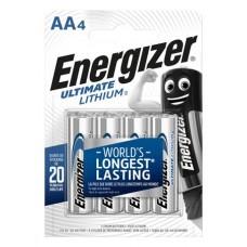 Elem, AA ceruza, 4 db, Lítium, ENERGIZER