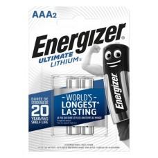 Elem, AAA mikro, 2 db, Lítium, ENERGIZER