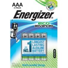Elem, AAA, E92, mikro, 4 db, alkáli, ENERGIZER