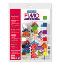 Gyurma készlet, 9x25 g, égethető, FIMO