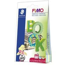 Gyurma készlet, 4x57 g, égethető, FIMO