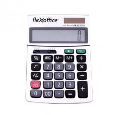 Számológép, asztali, 12 számjegy, FLEXOFFICE