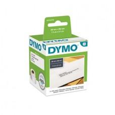 Etikett, LW nyomtatóhoz, 28x89 mm, 130 db etikett, DYMO