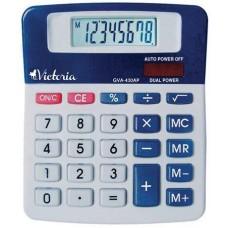 Számológép, asztali, 8 számjegy, VICTORIA