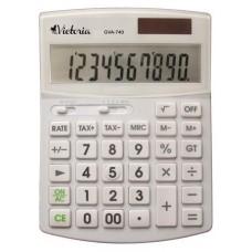 Számológép, asztali, 10 számjegy, VICTORIA