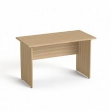 Íróasztal, laplábbal, 120x70 cm, MAYAH