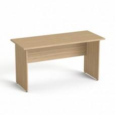 Íróasztal, laplábbal, 140x70 cm, MAYAH