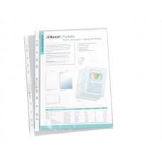 Genotherm, lefűzhető, A4, 50 mikron, víztiszta, REXEL