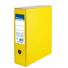 Tokos iratrendező, 75 mm, A4, karton, VICTORIA, sárga