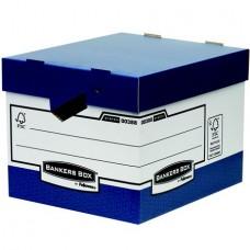 Archiváló konténer, karton, ergonomikus fogantyúkkal