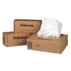 Hulladékgyűjtő zsák iratmegsemmisítőhöz, 165 literes kapacitásig, FELLOWES