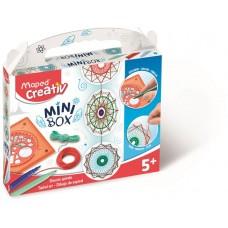 Mandala készítő kreatív készségfejlesztő készlet, MAPED CREATIV,