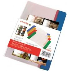 Füzet- és könyvborító + füzetcímke, A5, PVC,  PANTA PLAST