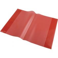 Füzet- és könyvborító, A5. PP,  PANTA PLAST, piros