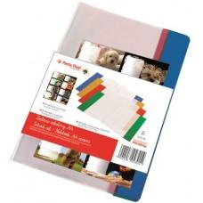 Füzet- és könyvborító + füzetcímke, A4. PVC,  PANTA PLAST
